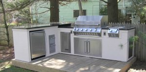 Outdoor Kitchen in Nassau County